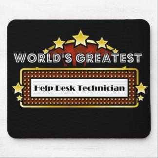 World's Greatest Help Desk Technician Mouse Pads