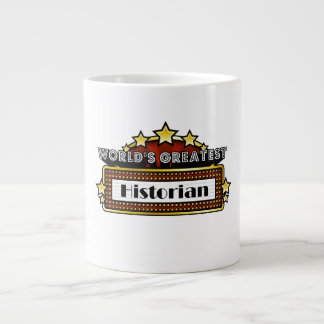 World's Greatest Historian Large Coffee Mug