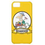 WORLDS GREATEST HOARDER MEN CARTOON CASE FOR iPhone 5C