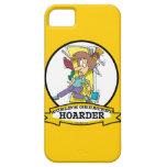 WORLDS GREATEST HOARDER WOMEN CARTOON iPhone 5 CASES
