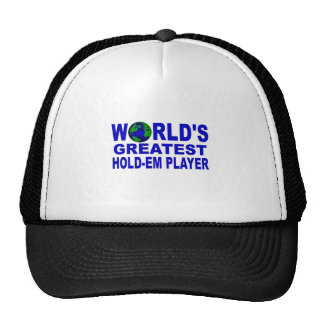 World's Greatest Hold-Em Player Hats