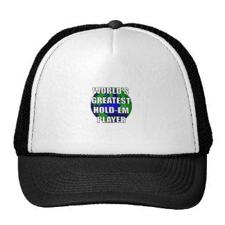 World's Greatest Hold-Em Player Hat