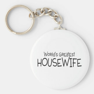 Worlds Greatest Housewife Keychains