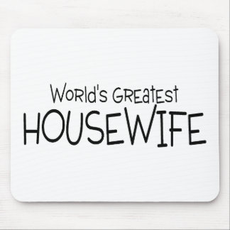 Worlds Greatest Housewife Mouse Pad