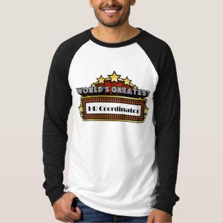 World's Greatest HR Coordinator T-Shirt