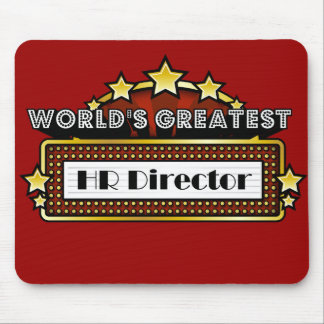 World's Greatest HR Director Mouse Pad