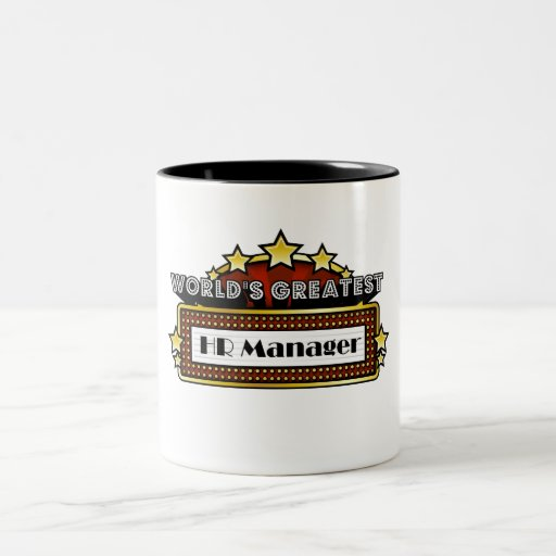 World's Greatest HR Manager Coffee Mug
