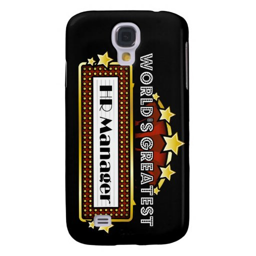 World's Greatest HR Manager Galaxy S4 Cases