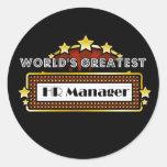 World's Greatest HR Manager Sticker