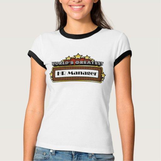 World's Greatest HR Manager T-shirt T-Shirt, Hoodie, Sweatshirt