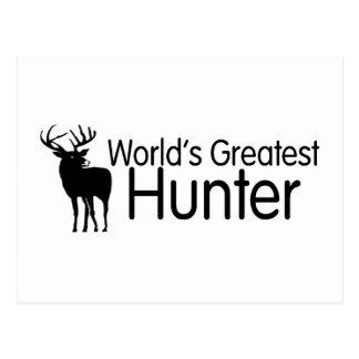 Worlds Greatest Hunter Postcard