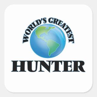 World's Greatest Hunter Square Sticker