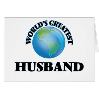 World's Greatest Husband Cards