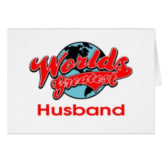 World's Greatest Husband Card