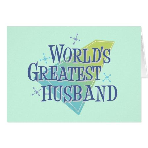 World's Greatest Husband Cards