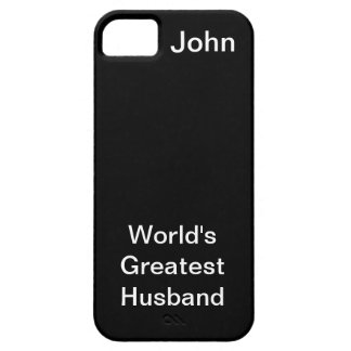 Worlds Greatest Husband iPhone 5 Case
