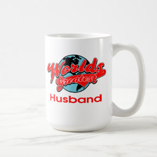 World's Greatest Husband Coffee Mug
