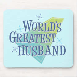 Mousepad with World's Greatest Husband design