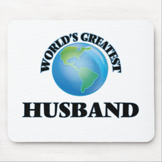 World's Greatest Husband Mouse Pad
