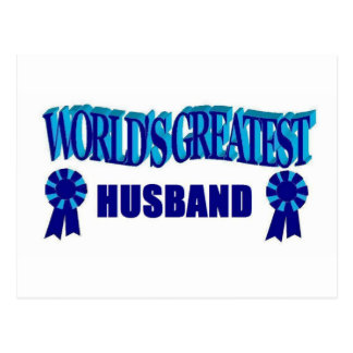 World's Greatest Husband Postcards