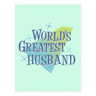 World's Greatest Husband Postcards