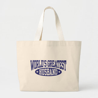 World's Greatest Husband Tote Bags
