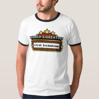 World's Greatest HVAC Technician T-Shirt