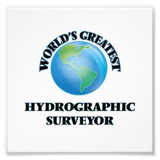 World's Greatest Hydrographic Surveyor Photo Art