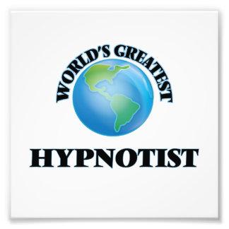 World's Greatest Hypnotist Photo Print