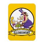 WORLDS GREATEST ILLUSIONIST CARTOON VINYL MAGNETS