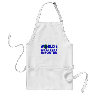 World's Greatest Importer Adult Apron