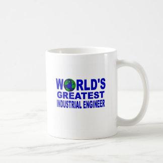 World's Greatest Industrial Engineer Classic White Coffee Mug