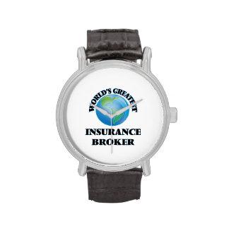 World's Greatest Insurance Broker Watches