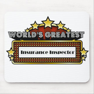 World's Greatest Insurance Inspector Mouse Pad