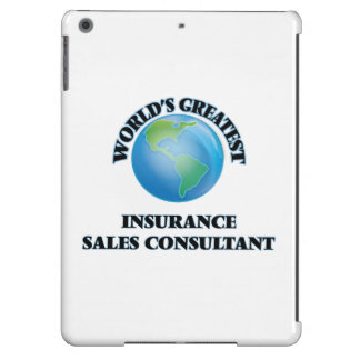 World's Greatest Insurance Sales Consultant Case For iPad Air