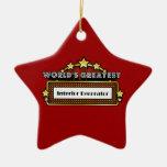 World's Greatest Interior Decorator Christmas Ornaments