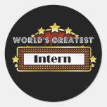 World's Greatest Intern Stickers