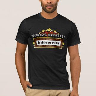 World's Greatest Interpreter T-Shirt