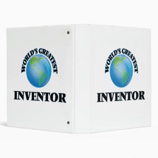 World's Greatest Inventor Binder
