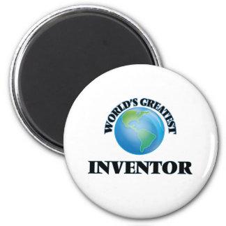 World's Greatest Inventor 2 Inch Round Magnet