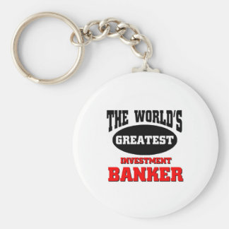 World's greatest investment banker keychain