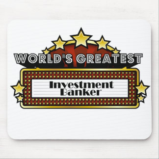 World's Greatest Investment Banker Mouse Pad
