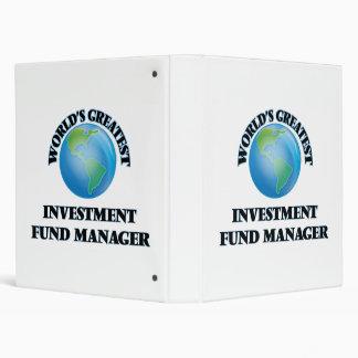 World's Greatest Investment Fund Manager Binder