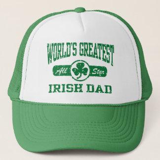 World's Greatest Irish Dad Trucker Hat