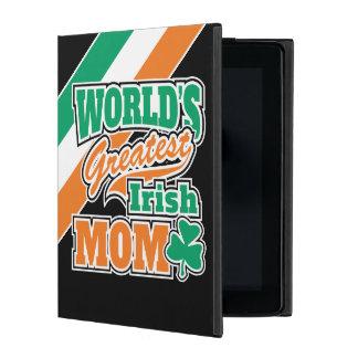 World's Greatest Irish Mom iPad Folio Case