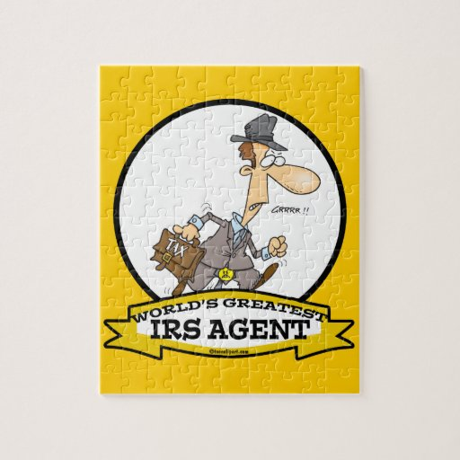 WORLDS GREATEST IRS AGENT CARTOON PUZZLES