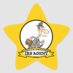WORLDS GREATEST IRS AGENT CARTOON STICKERS