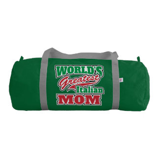 World's Greatest Italian Mom Duffle Bag