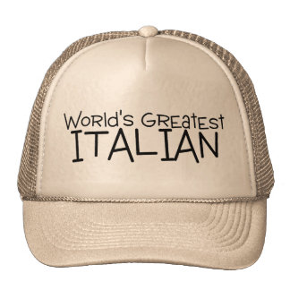 Worlds Greatest Italian Trucker Hat