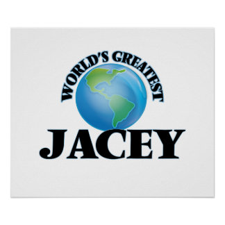 World's Greatest Jacey Poster